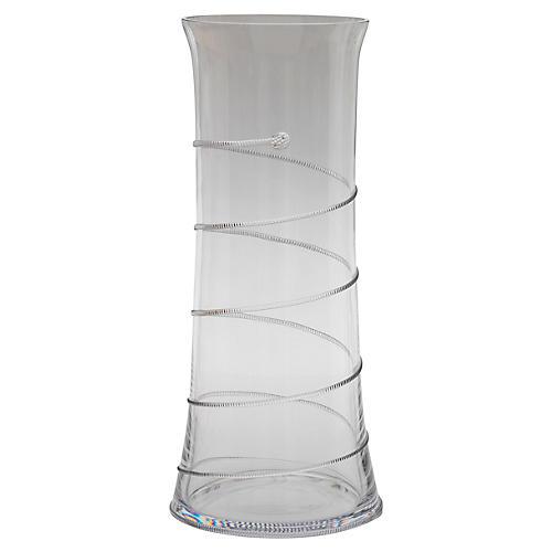 "18"" Amalia Branch Vase, Clear"