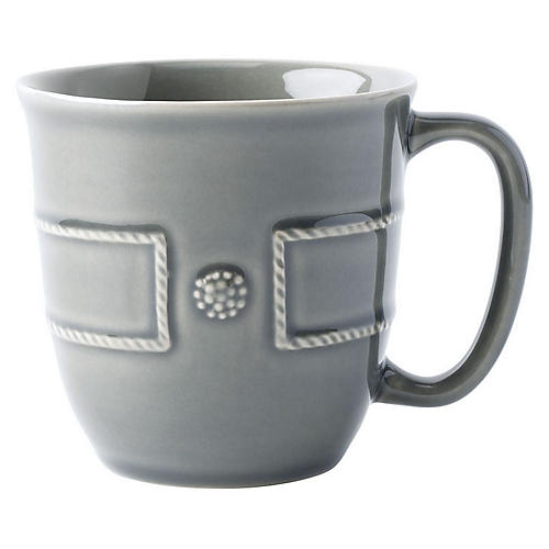 Berry & Thread Coffee Mug, Gray