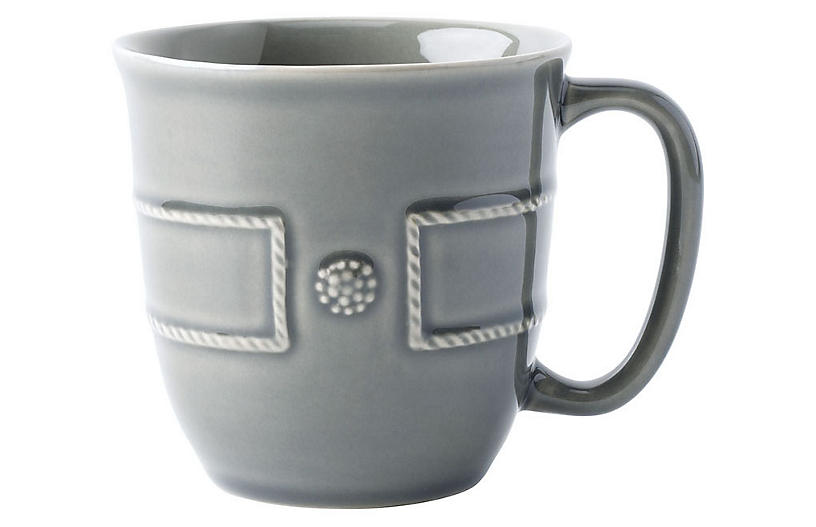 Berry & Thread Coffee Mug, Gray