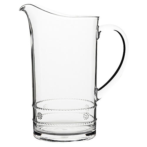 Isabella Acrylic Pitcher, Clear