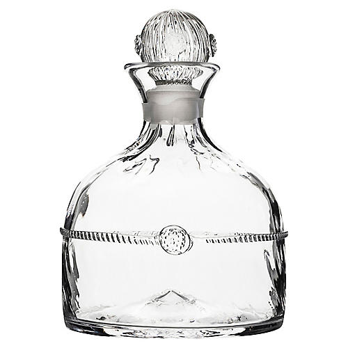 Graham Whiskey Decanter, Clear