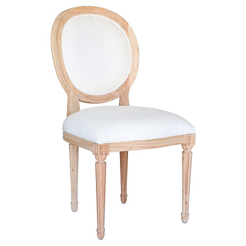 Octavia Side Chair, Natural