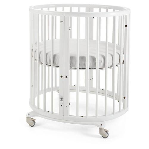 Sleepi Mini Crib, White