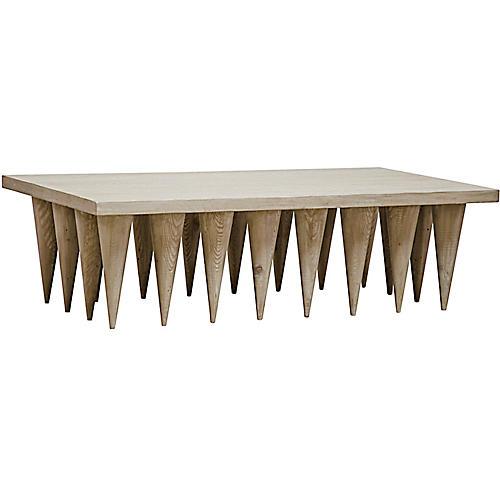 Hawthorn Coffee Table, Graywash