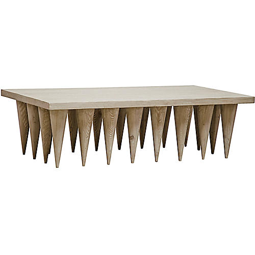 Hawthorn Coffee Table, Graywash