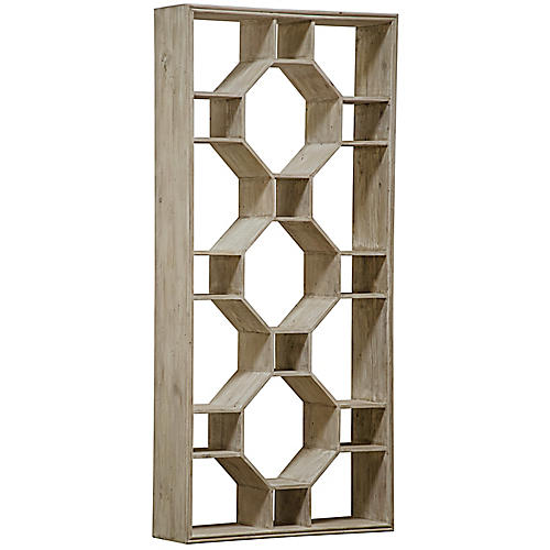 Mones Bookcase, Graywash