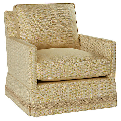 Auburn Club Chair, Marigold