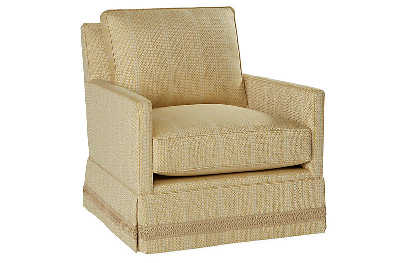 Auburn Club Chair, Marigold