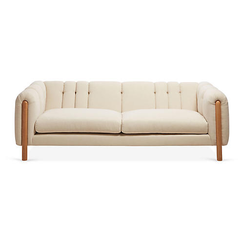 Burke Sofa, Natural Crypton