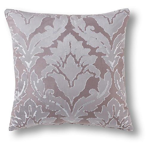 Bennett 22x22 Pillow, Mauve