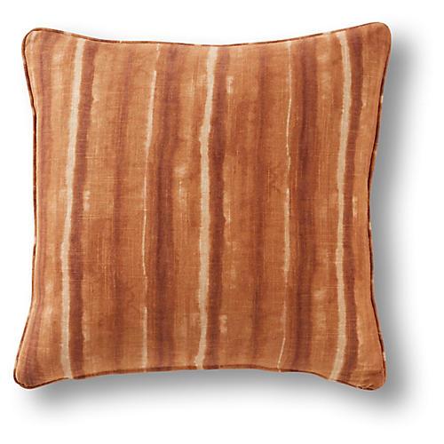 Menlo 19x19 Pillow, Rust Linen