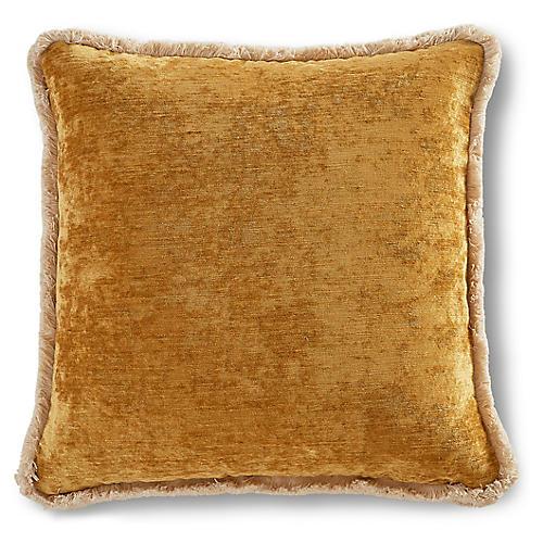 Wisteria 22x22 Pillow, Marigold