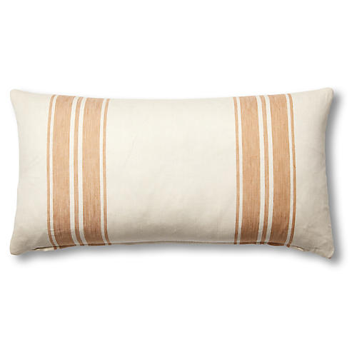Brentwood 12x23 Lumbar Pillow, Natural