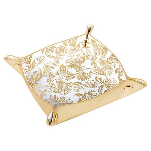 In Reel Life Valet, Gold/White
