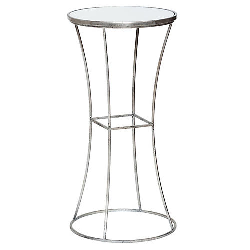 Joanie Side Table, Silver