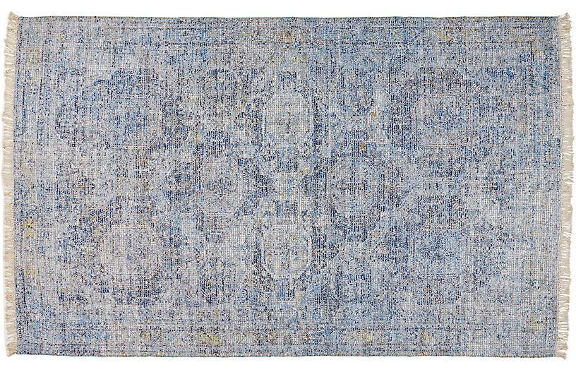 Richa Jute-Blend Rug, Blue