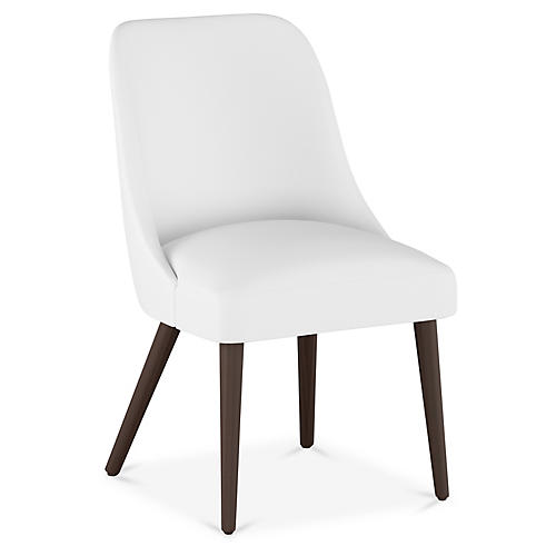 Barron Side Chair, White