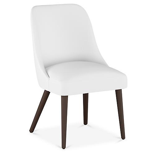 Barron Side Chair, White