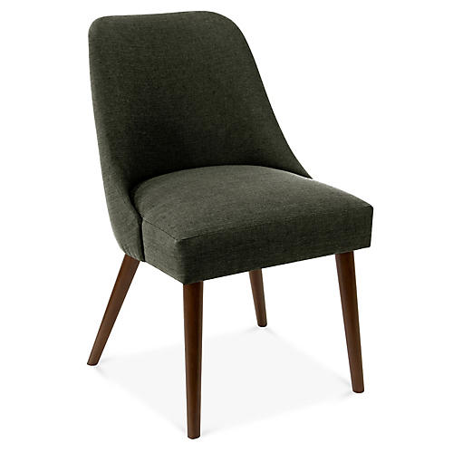 Barron Side Chair, Charcoal