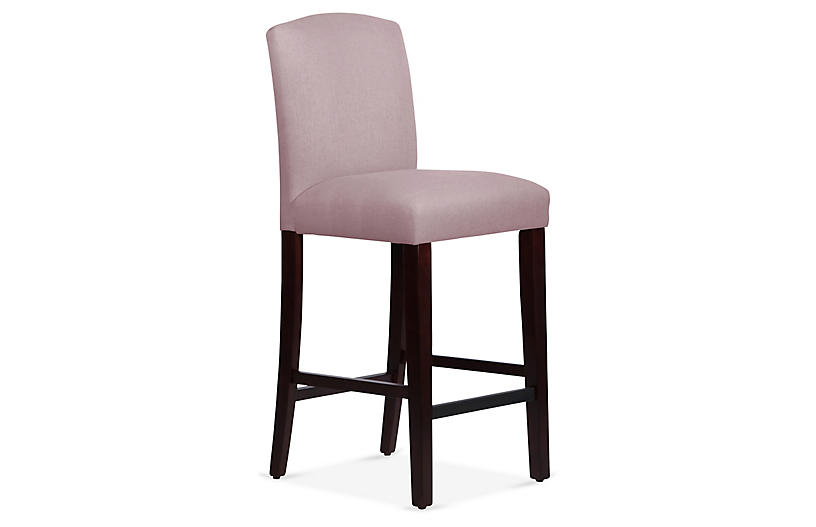 Marie Barstool, Lilac Linen