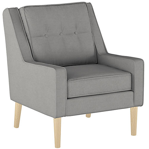 Shara Accent Chair, Gray