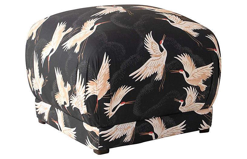 Benton Ottoman, Black Cranes