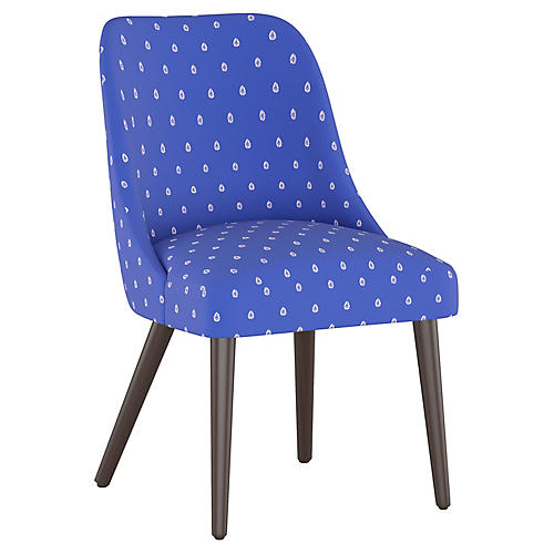 Mariposa Side Chair, Lapis
