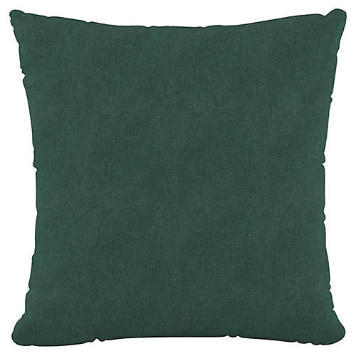 Olivia 20x20 Pillow, Forest Green