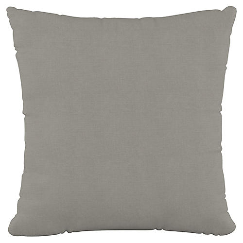 Olivia 20x20 Pillow, Gray