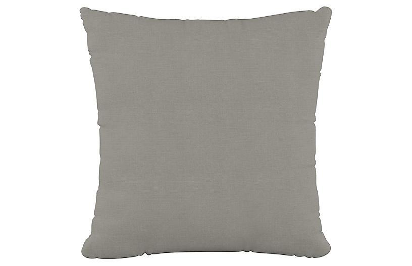 Olivia 20x20 Pillow, Gray