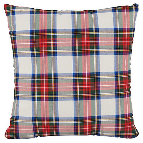 Heidi 20x20 Pillow, White/Multi
