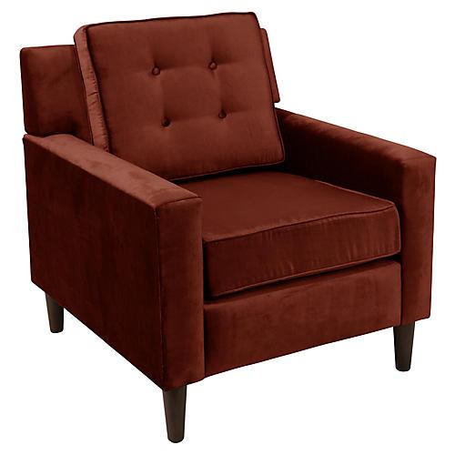 Winston Club Chair, Auburn