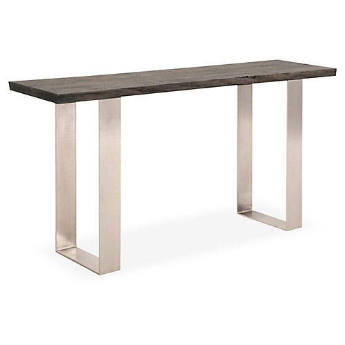 Cason Console, Brushed Charcoal