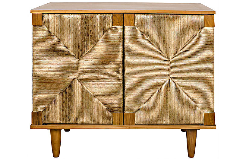 Brook 2-Door Sideboard, Teak