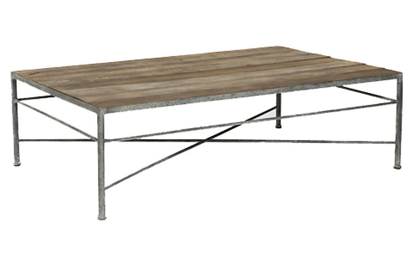 Isabelle Coffee Table, Natural/Gray