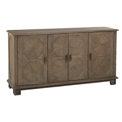 Rhodes Sideboard, Charcoal Oak