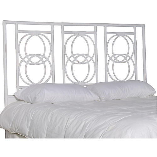 Emmerson Headboard, Distressed White