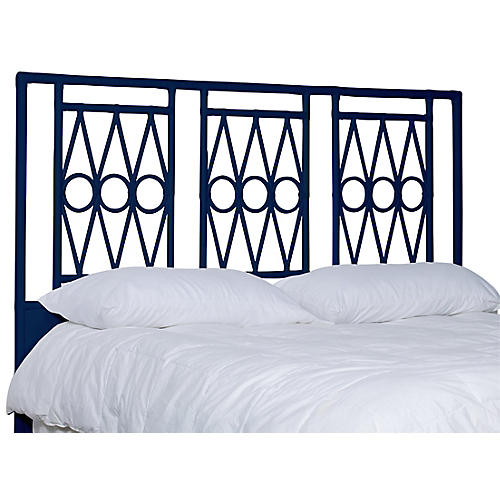 Devonshire Headboard, Navy
