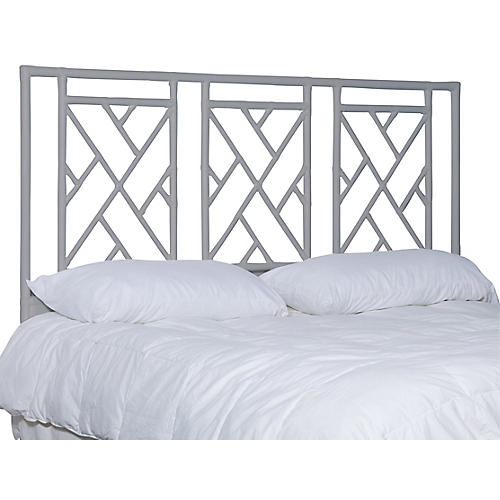 Alden Headboard, Light Gray