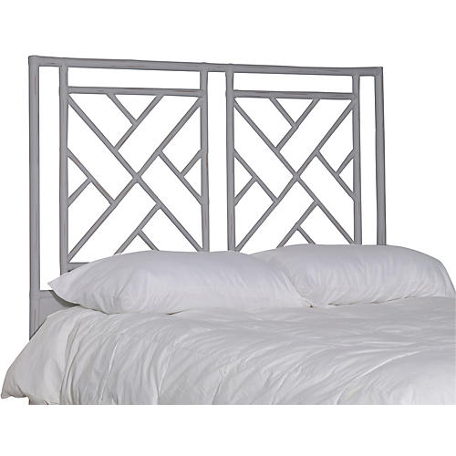 Alden Headboard, Distressed Gray