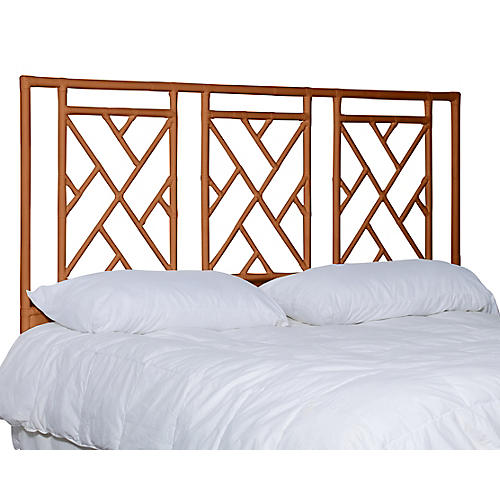Alden Headboard, Burnt Orange