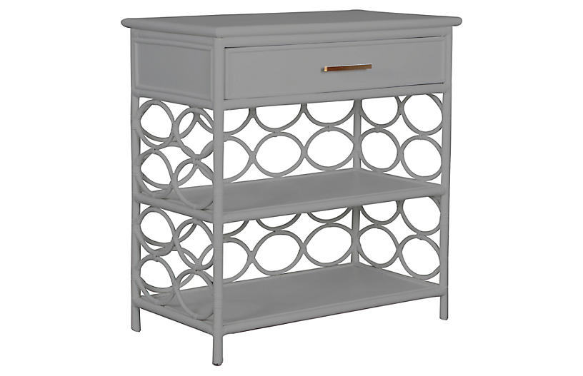 Isla Side Table, Light Gray