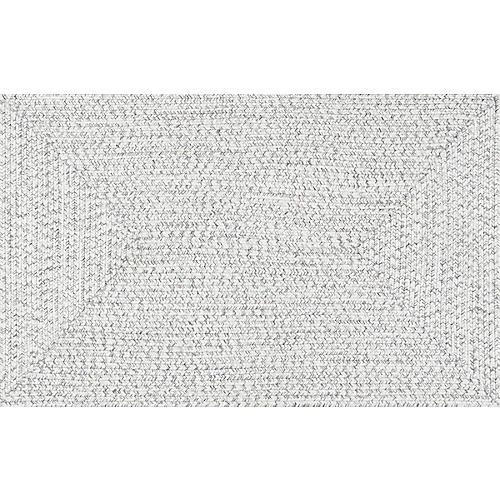 Lefebvre Braided Rug, Ivory