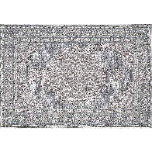 Mary Anne Rug, Light Gray