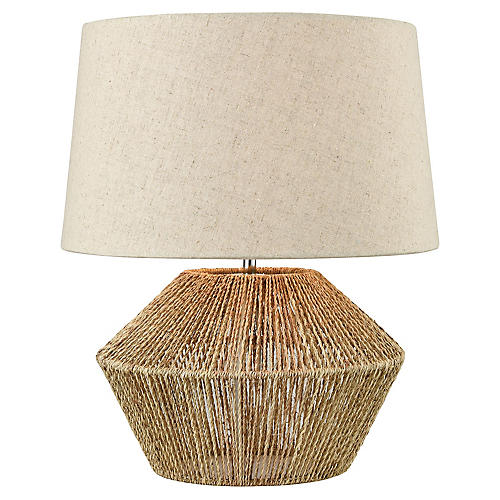 Ozuna Table Lamp, Natural