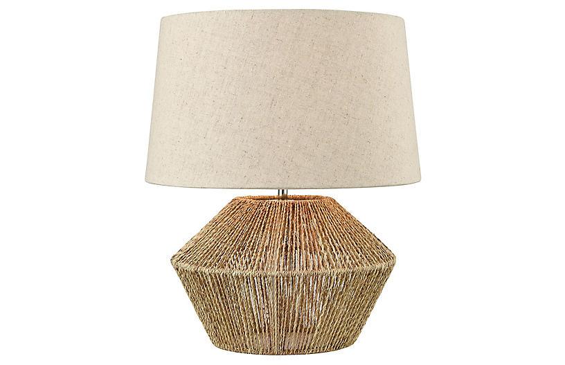 Ozuna Table Lamp, Natural