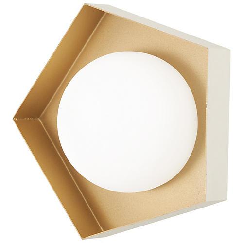 Five-O LED Sconce, White