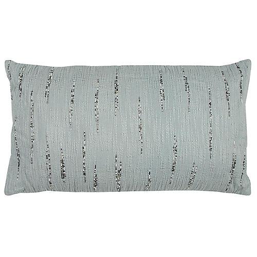 Nova 14x26 Lumbar Pillow, Aqua
