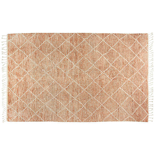 Aicha Hand-Knotted Rug, Natural