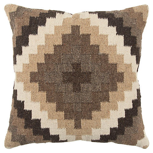 Lana 20x20 Pillow, Brown